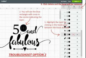 How To Fix Filled Area SVG Import Issues In Cricut Design Space