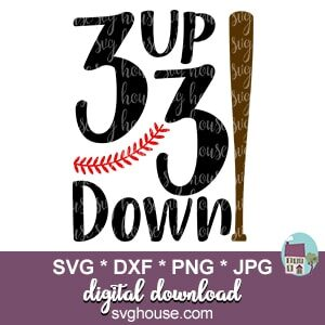 3 Up 3 Down SVG