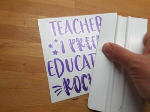 Easy DIY Teacher Appreciation Card Using Your Cricut