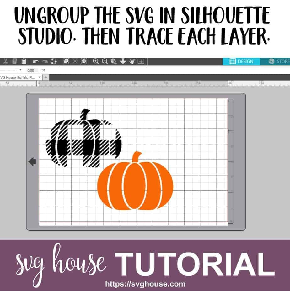 How To Cut A Buffalo Plaid SVG With Silhouette Studio