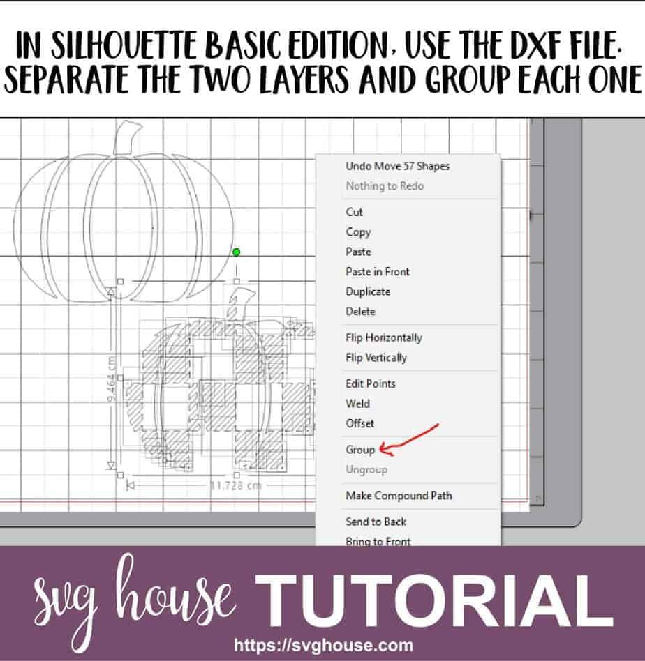 How To Cut A Buffalo Plaid DXF in Silhouette Basic Edition