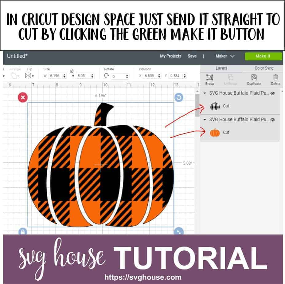 How To Cut Buffalo Plaid SVG With Cricut Maker