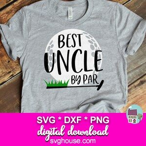 Best Uncle By Par SVG