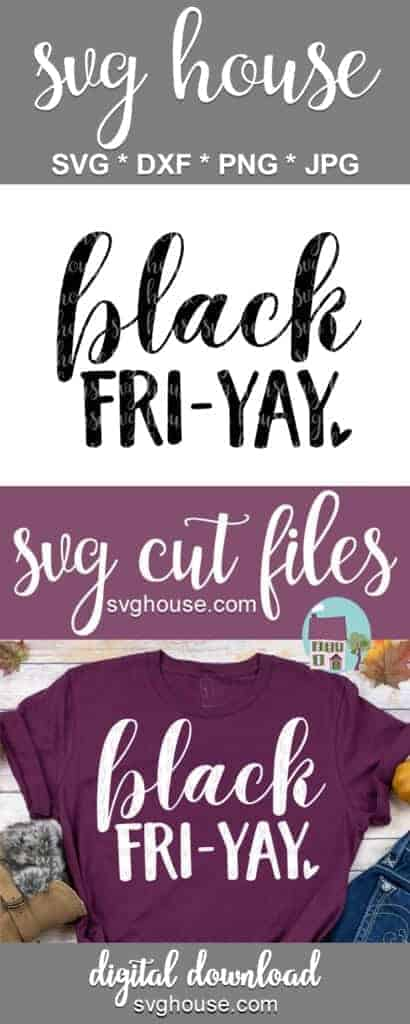 Black Fri-Yay SVG