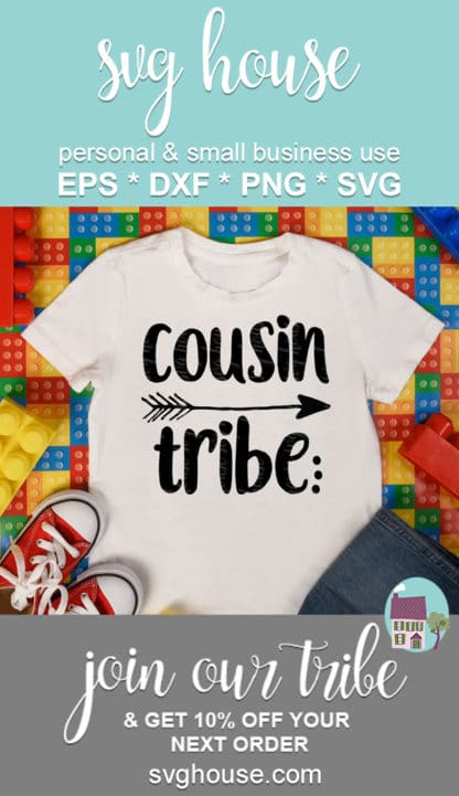 Cousin Tribe Svg