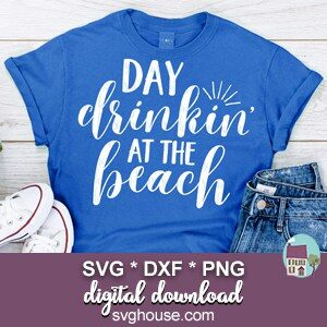 Day Drinkin At The Beach SVG