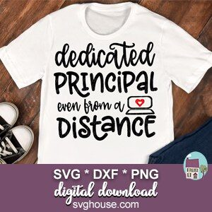 Dedicated Principal Even From A Distance SVG