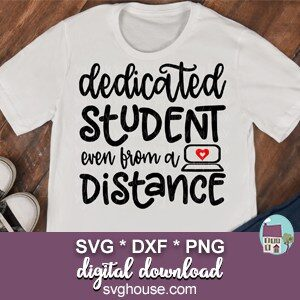 Dedicated Student Even From A Distance SVG