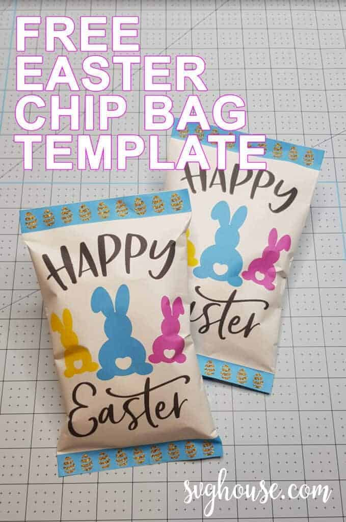 FREE EASTER CHIP BAGE TEMPLATE