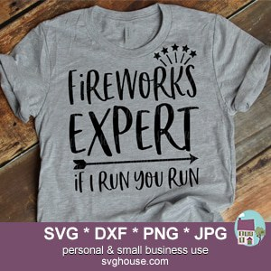 Fireworks Expert If I Run You Run SVG