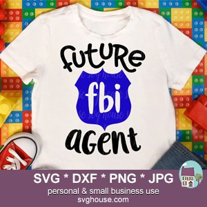 Future FBI Agent SVG