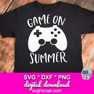 Game On Summer SVG