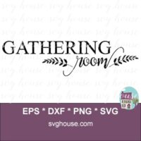 Gathering Room Svg