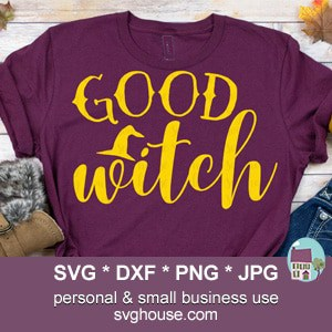 Good Witch SVG