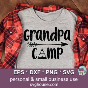 Grandpa Camp Svg