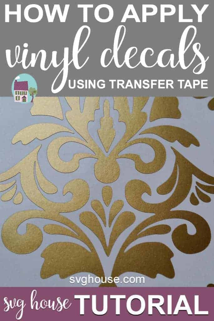 How To Apply Vinyl Decals With Transfer Tape