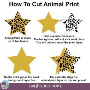 How To Cut Animal Print SVG