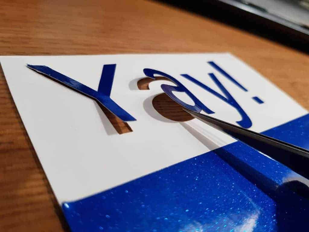 How To Stop Cutting Right Through Vinyl With Cricut Or Silhouette Cameo