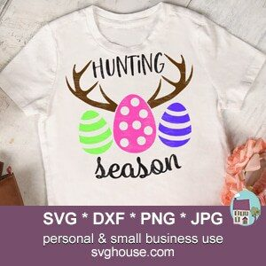 Hunting Season Easter SVG