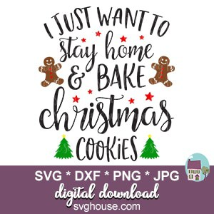 christmas cookies svg