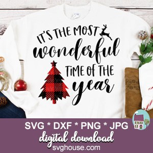 Its The Most Wonderful Time Of The Year SVG