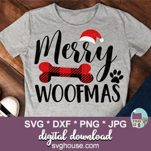 Merry Woofmas SVG