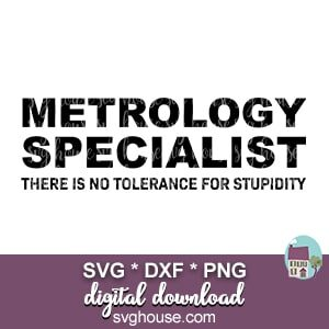 Metrology Specialist SVG