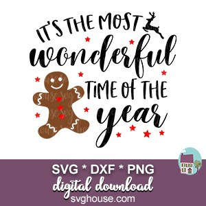 Most Wonderful Time Of The Year SVG