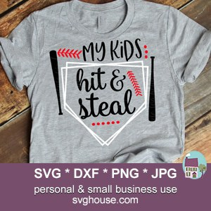 My Kids Hit And Steal SVG