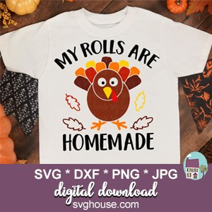 My Rolls Are Homemade SVG