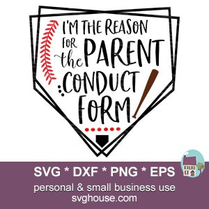 Parent Conduct Form SVG