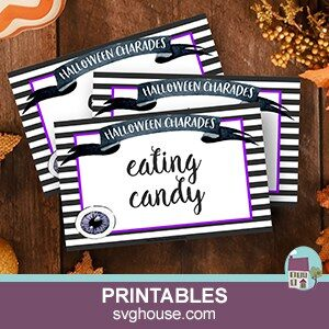 Printable Halloween Charades