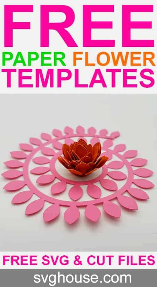 ROLLED FLOWER TEMPLATE