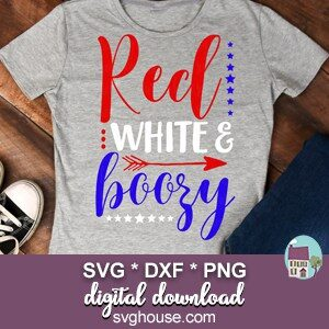 Red White And Boozy SVG