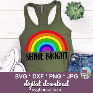 Shine Bright SVG