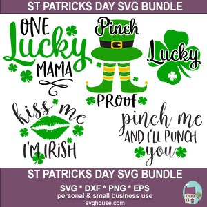 St Patricks Day SVG Bundle 300