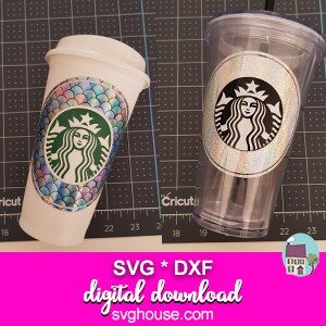 Starbucks Circle SVG files