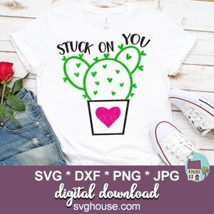 Stuck On You SVG