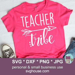 Teacher Tribe SVG