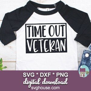 Time Out Veteran SVG