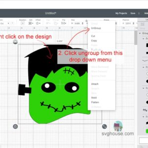 Ungrouping Layers In Design Space