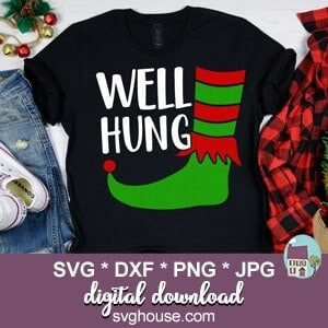 Well Hung SVG