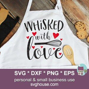 Whisked With Love SVG
