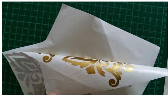 how to apply vinyl decals using transfer tape