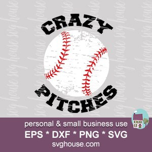 Crazy Pitches SVG