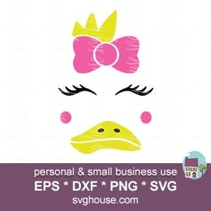 duck face svg