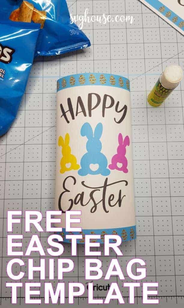 easter chip bag cover free
