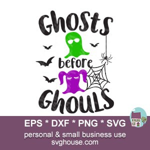ghosts before ghouls svg