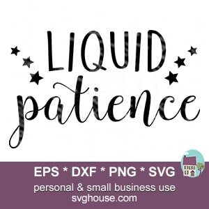 Liquid Patience SVG