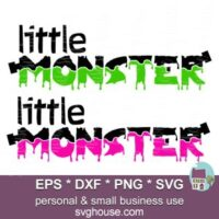 little monster svg